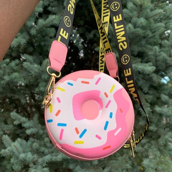 Pink Donut Bag